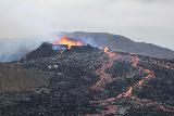 Langihryggur_telephoto_118_08192021 - Another contextual look at the Fagradalsfjall Volcano erupting