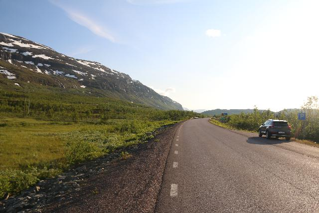 Lappland_102_07072019 - Context of the pullouts along the E10 that served to both allow faster drivers to pass as well as to stop the car to do a little more intimate exploring of Swedish Lapland