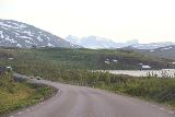 Lappland_223_07072019 - Passing through a combination of lakes and snowy mountains as I was returning on the E10 to Norway and eventually to Narvik from Swedish Lappland