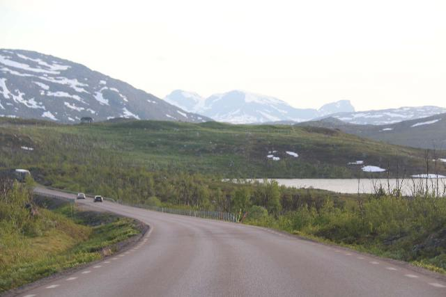 Lappland_223_07072019 - It was a pleasant surprise to drive the E10 into Swedish Lapland as it passed through a scenic plateau surrounded by snowy mountains and dotted with attractive tarns and lakes