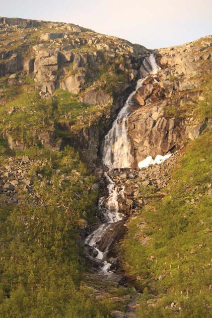 Lappland_235_07072019 - Focused look at the Skogvann Waterfall