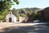 Las_Alpujarras_011_05262015 - Looking back at the parked car and the church by Fuente Agria