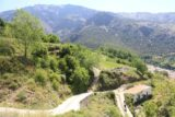 Las_Alpujarras_102_05272015 - Looking down at the road that I walked up to get up to the mirador