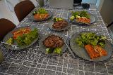 Laugar_006_08122021 - This was our self-cooked in dinner in Laugar within the Natura Apartment we stayed at