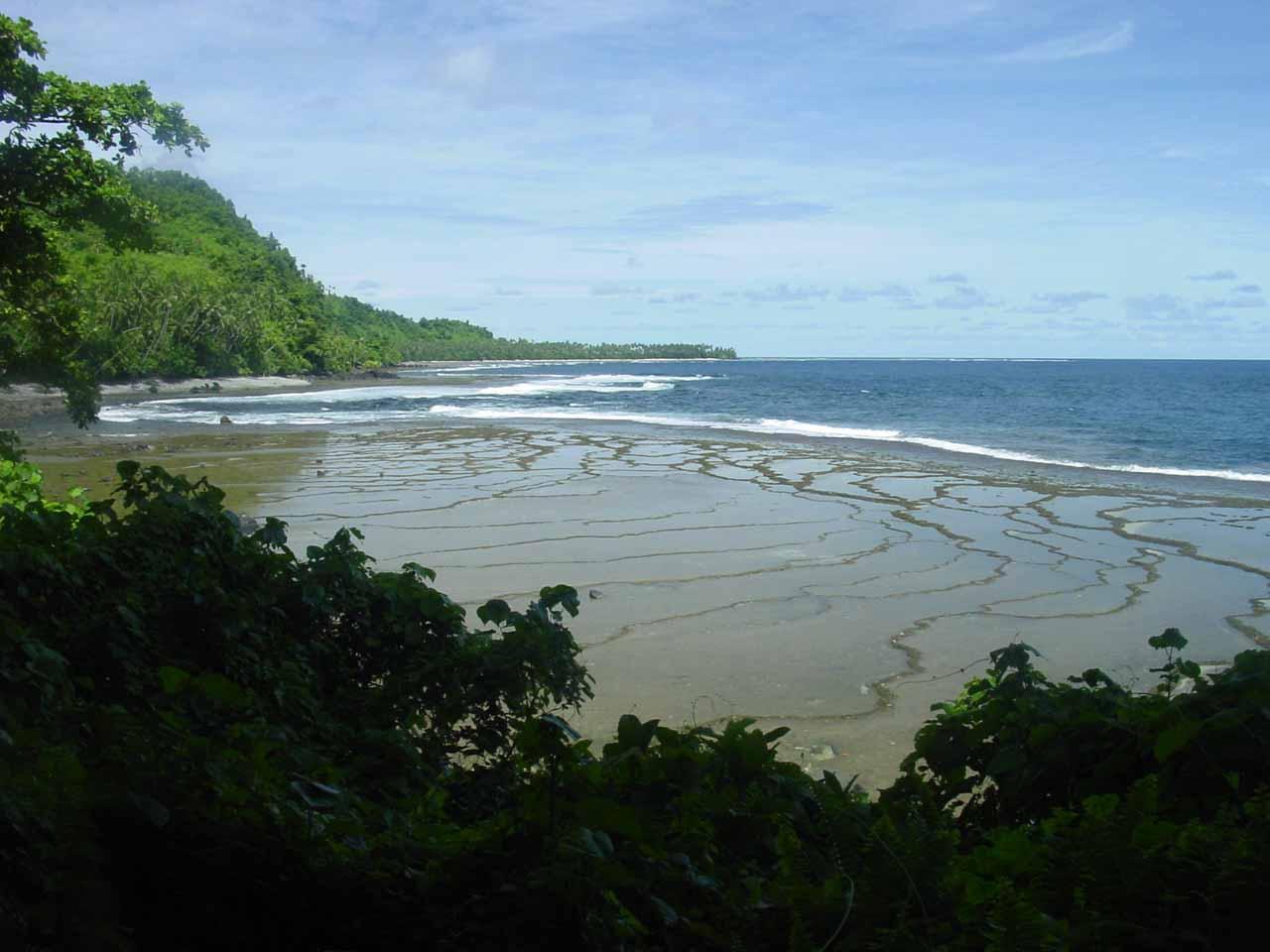 Beautiful coastal views all along the Lavena Coastal Walk leading to and from the Wainibau Falls