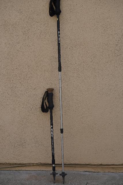 This is my Leki Makalu Ultralite Titanium trekking pole that I bought from REI