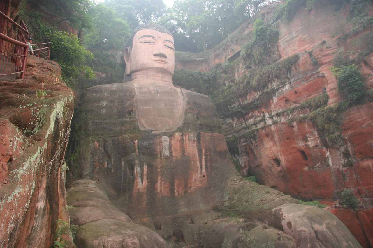 Looking back at the Buddha