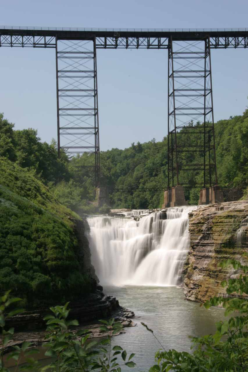 Upper Falls of the Genesee River in Letchworth State Park