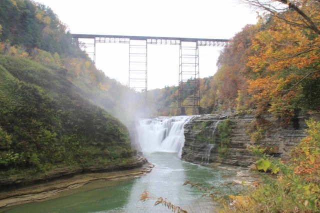 Letchworth_SP_13_056_10152013 - Upper Falls of the Genesee River in Letchworth State Park