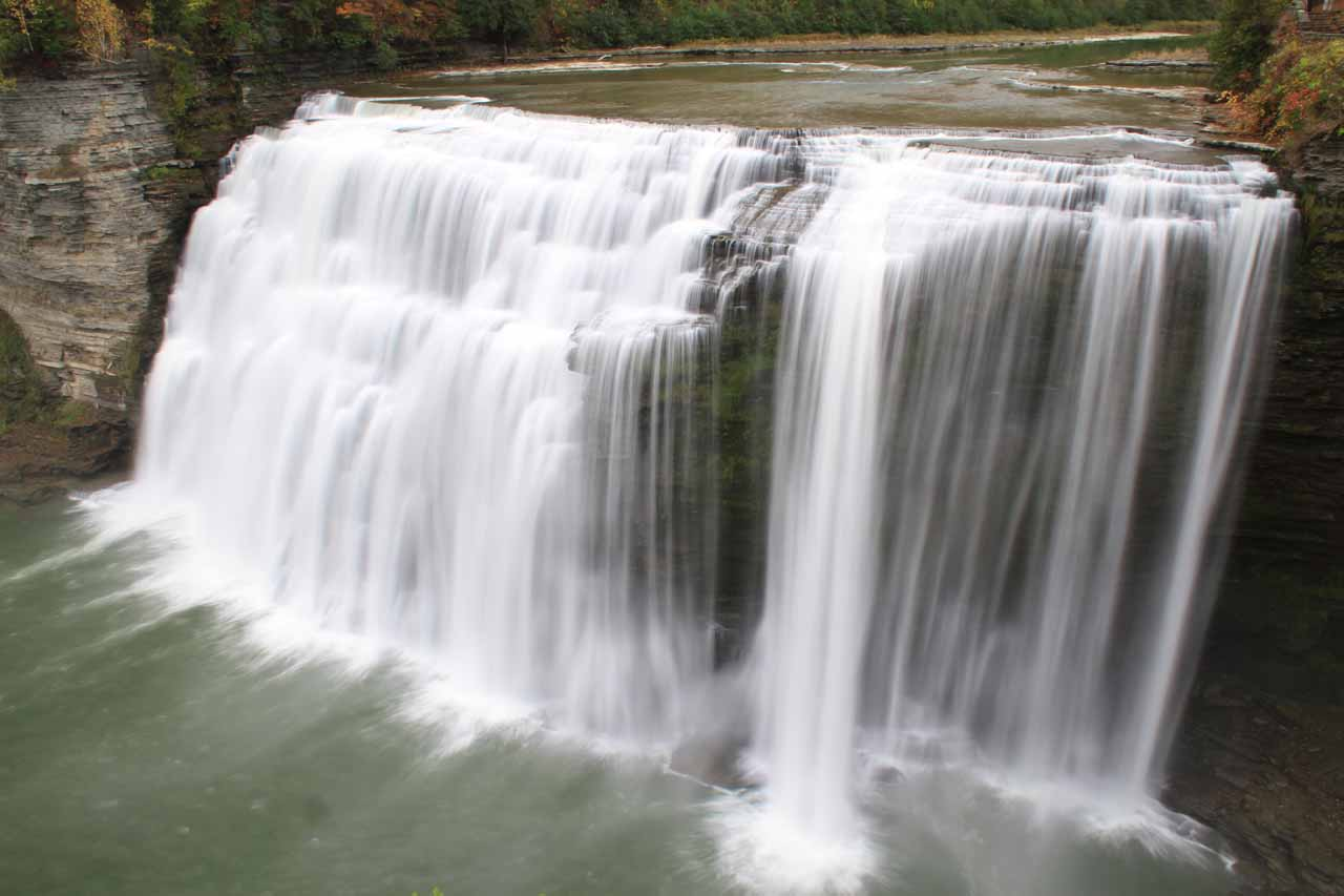 2. MIDDLE FALLS OF THE GENESEE RIVER [Letchworth State Park, New York, USA]