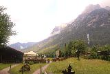 Leutaschklamm_088_06272018 - Looking back across the valley from the kiosk where I had paid to get into the Leutaschklamm and the waterfall walk