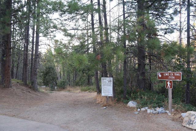 Lewis_Creek_001_08162019 - Starting the hike on Lewis Creek towards both Corlieu Falls and Red Rock Falls