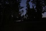 Lewis_Creek_168_08162019 - When I finally got back to the Lewis Creek Trailhead, it was dark, which gives you an idea of how late I had started and ended my hike in mid-August 2019