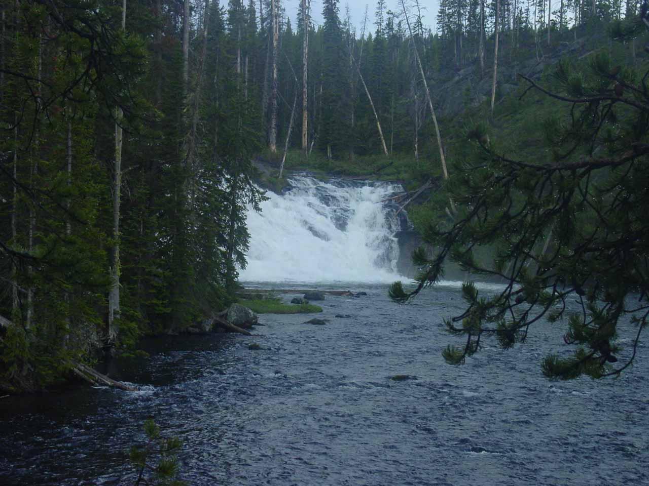 Last look at Lewis Falls