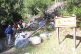 Lewis_Falls_13_012_01052013 - Hiking past the 'No Fires' sign. That sign could very well have been the only notable landmark that clued us in to this place back in the January 2013 time frame, but apparently it was removed when we came back in June 2017