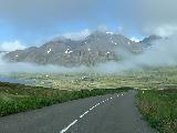 Leyningsfoss_001_iPhone_08142021 - Looking back down the road towards the head of Sigljufjordur as we had overshot the trailhead for Leyningsfoss
