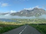 Leyningsfoss_004_iPhone_08142021 - Looking back down the road towards the head of Sigljufjordur as we had overshot the trailhead for Leyningsfoss