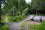 Leyningsfoss_040_08142021 - Looking back at the trail junction where we left the Skógarstígur for the Fossstígur