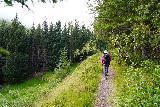 Leyningsfoss_041_08142021 - The Fossstígur was considerably narrower than the Skógarstígur