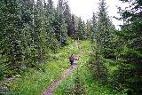 Leyningsfoss_097_08142021 - Mom starting to head back after having her fill of Leyningsfoss