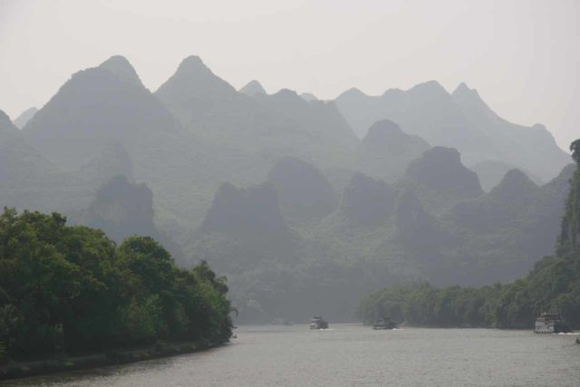 Li_River_020_04202009 - Although it wasn't the case with our Lijiang River Cruise between Guilin and Yangshuo, some of those tours stop at the Crown Cave