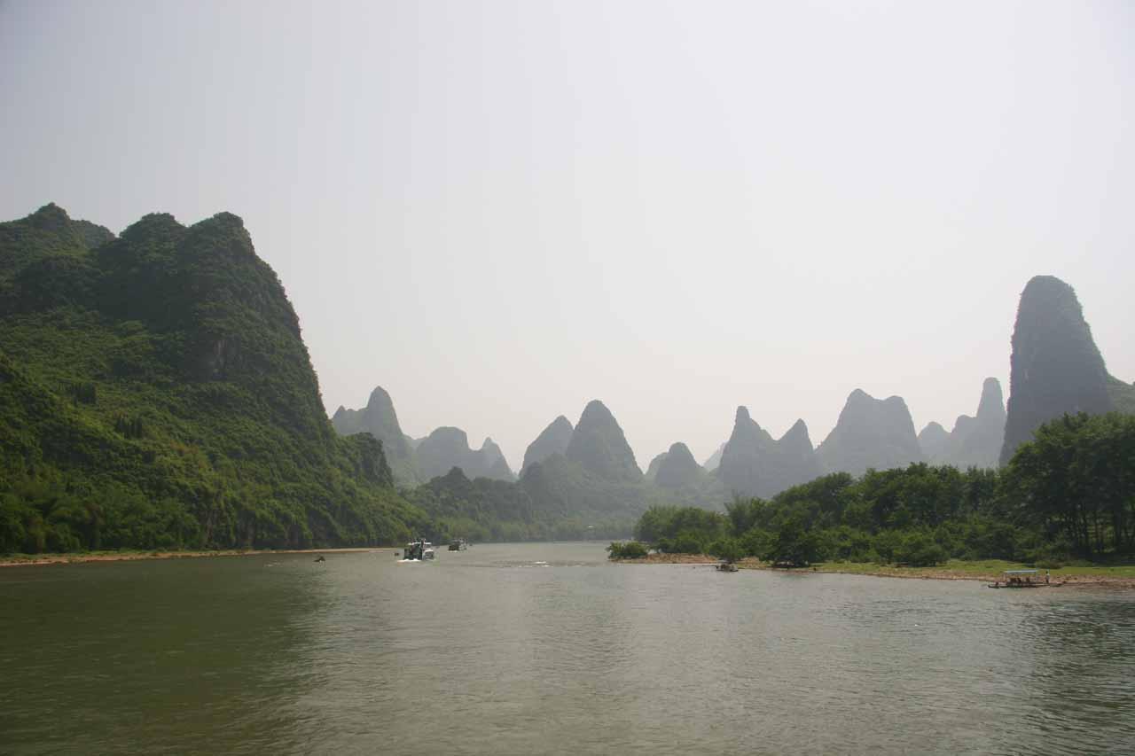 Near the 20 yuan note scenery