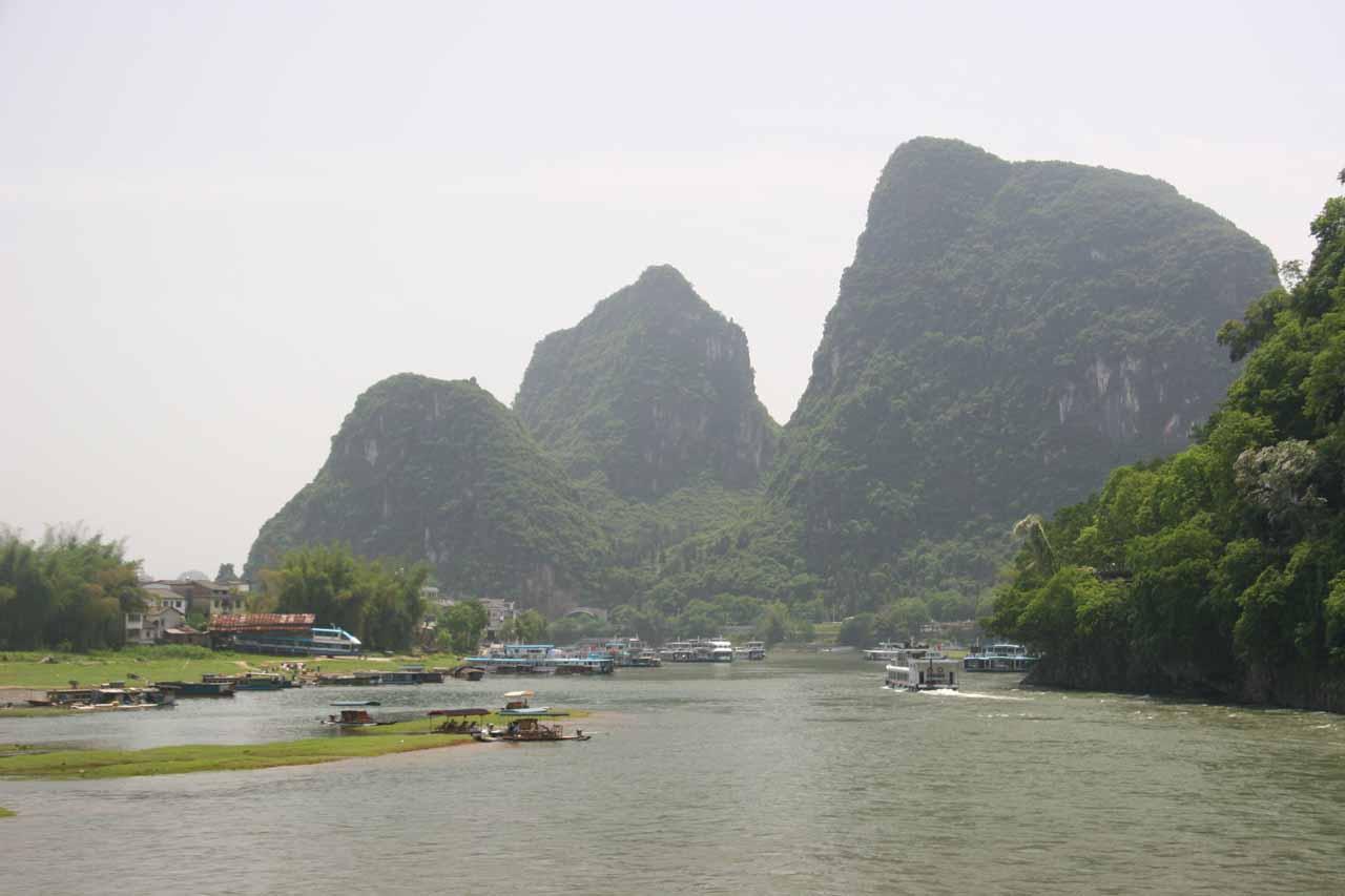 Approaching Yangshuo