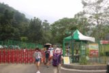 Liangshan_Waterfall_006_10282016 - Approaching the ticket booth for the Liangshan Recreational Area