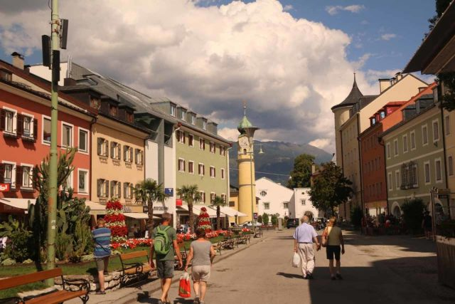 Lienz_013_07132018 - Near the southern end of the Grossglockner High Alpine Road was the town of Lienz, which was backed by impressive mountains as well as having a fairly compact and charming city center