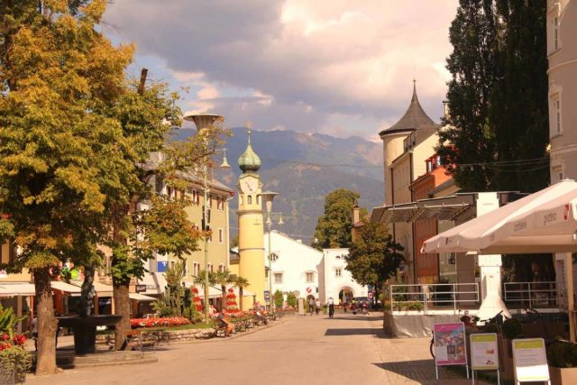 Lienz_069_07132018 - Further to the south of the Virgental was the city of Lienz, which had a compact altstadt featuring fancy buildings and places to hang out