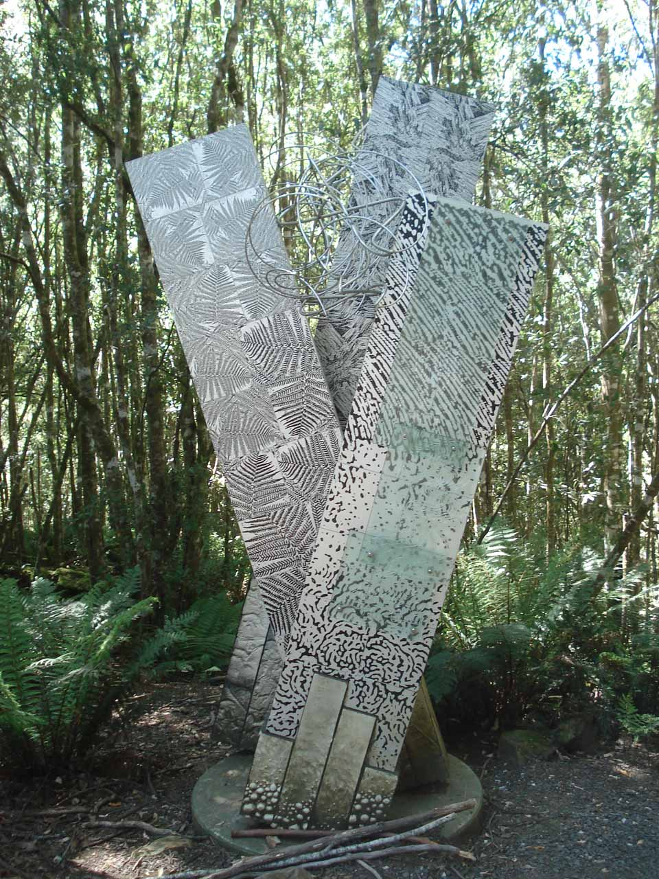 Some interesting symbolic thing along the Liffey Falls Track