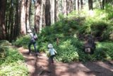 Limekiln_014_04022015 - Julie and Tahia keeping left to stay on the Kiln and Falls Trail while ditching the Hare Creek Trail during our April 2015 visit