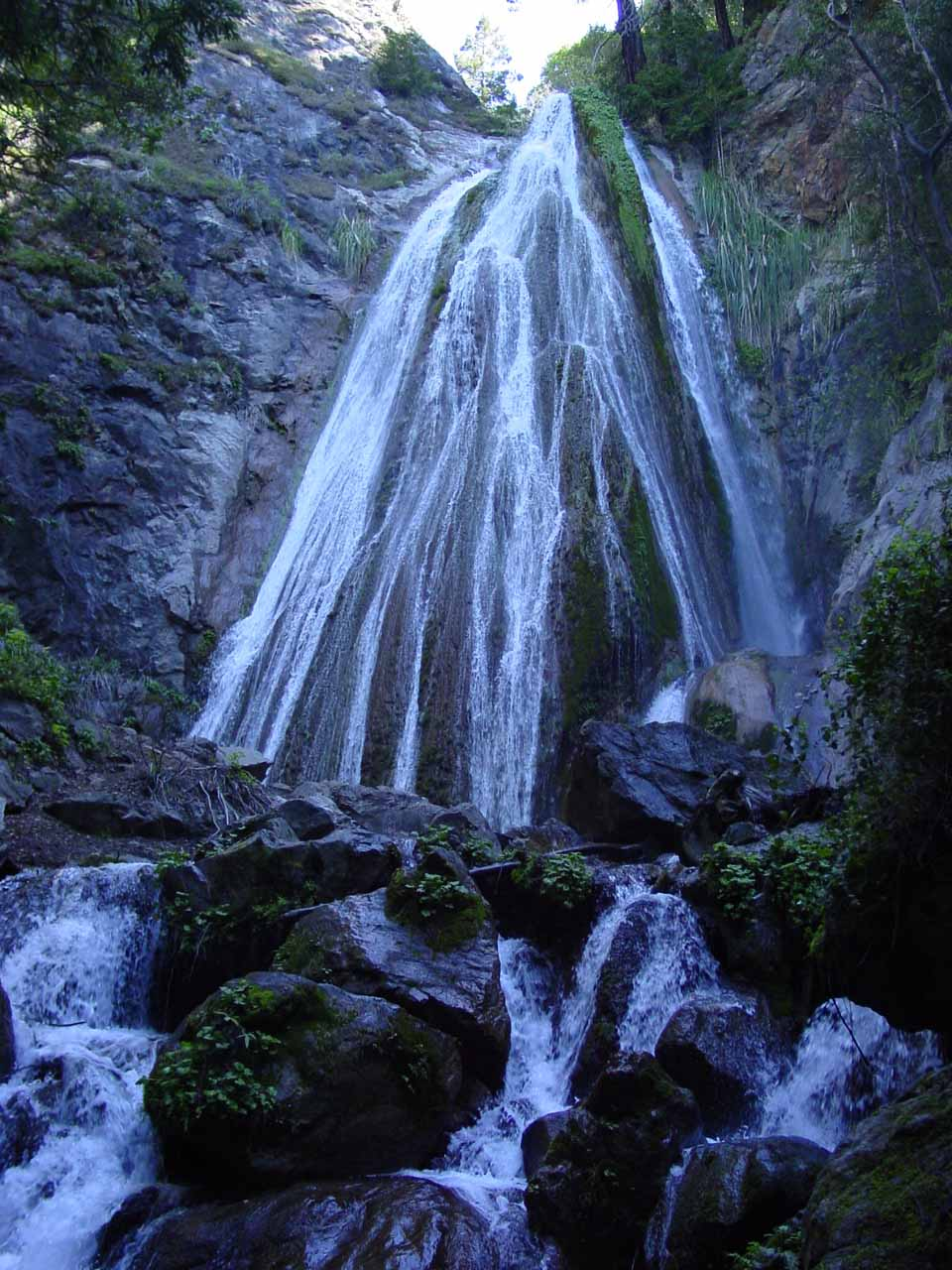 Our first look at Limekiln Falls from back in 2003
