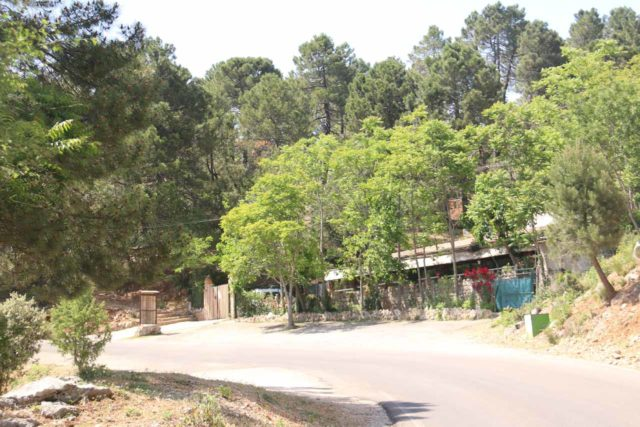 Linarejos_006_05292015 - This was the cafe a little further up the road where I'd imagine that if you couldn't find parking by the bridge over the Rio Guadalquivir, then this is where you might have to park the car to hike to the Cascada de Linarejos
