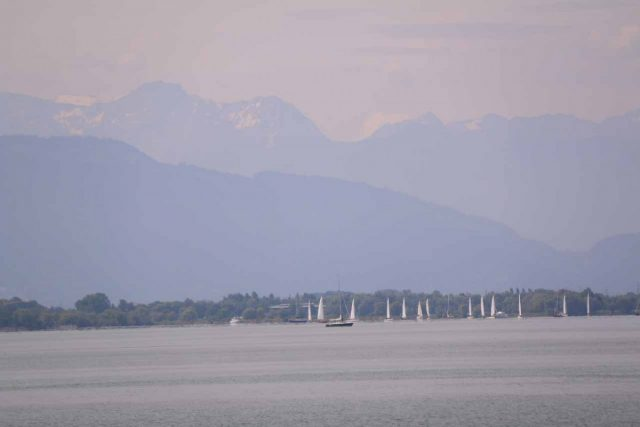 Lindau_068_06242018 - Unlike this morning shot, it seemed like Bodensee and Lindau were at their scenic best in the afternoons when the Bavarian Alps would loom over the lake for picture postcard views