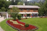 Linderhof_Palace_009_06272018 - Checking out some attractive flower fields in the main ticketing area for the Linderhof Palace