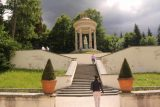 Linderhof_Palace_032_06272018 - Looking right up at the Temple of Venus from the last couple of flights of steps in the gardens of the Linderhof Palace