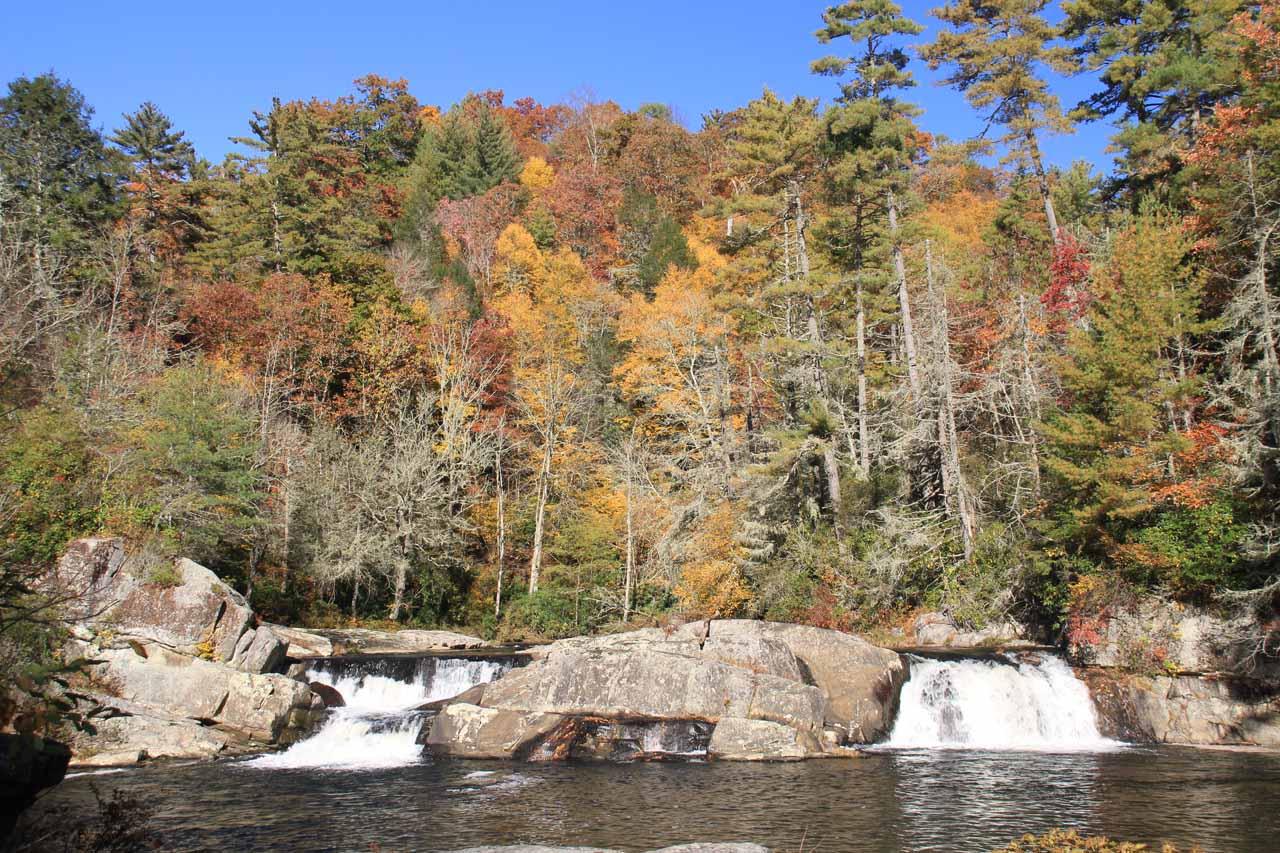 The Upper Falls in context