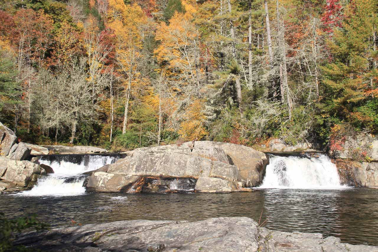 The Upper Linville Falls