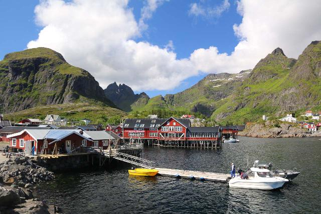 Lofoten_239_07032019 - Beyond the town of Sørvågen at the very end of the A10 was the fishing village of Å i Lofoten, which was where Julie and Tahia were chilling out while I was exploring the Sørvågen Waterfall