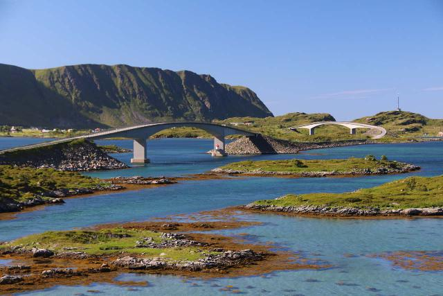 Lofoten_454_07032019 - Although I'm quoting driving distances and times as if you didn't make stops, with scenery like this in the Lofoten Islands along the A10, it's hard not to make stops!