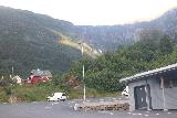 Lofthus_024_06232019 - Barely visible in the distance was Opofossen from this car park for some facility on the drive up to Elvedalen during my visit in late June 2019