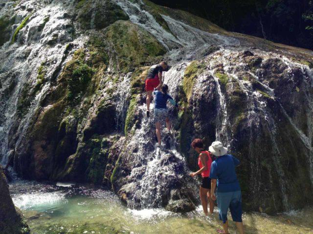 Lololima_009_jx_11282014 - Climbing up the Lololima Waterfalls