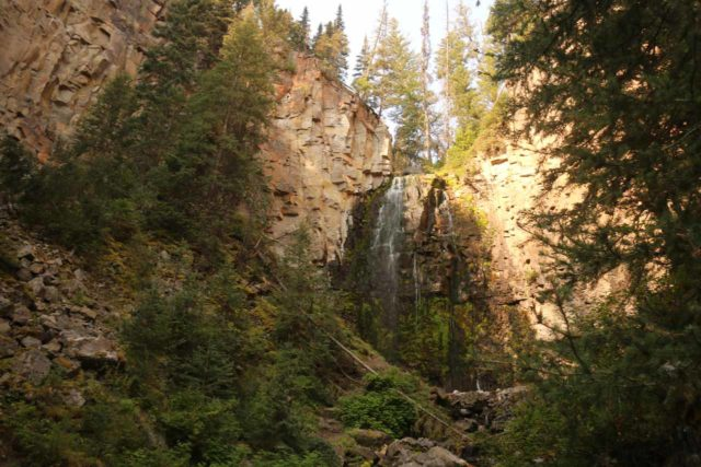 Lost_Creek_Falls_030_08102017 - Looking up at Lost Creek Falls during our August 2017 visit