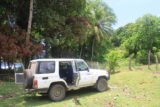 Louniel_084_11262014 - The 4wd parked at the start of the next hike to Louniel Beach