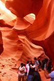 Lower_Antelope_Canyon_18_100_03312018 - Context of a spacious part of the Lower Antelope Canyon