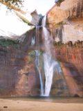 Lower_Calf_Creek_Falls_004_06192001 - Focused look at the Lower Calf Creek Falls back in June 2001