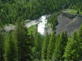 Lower_Mesa_Falls_004_06182004 - Broad contextual look at the Lower Mesa Falls as we saw it back in June 2004