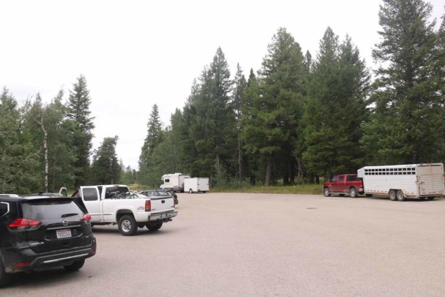 Lower_Mesa_Falls_17_001_08142017 - The parking lot for the Lower Mesa Falls