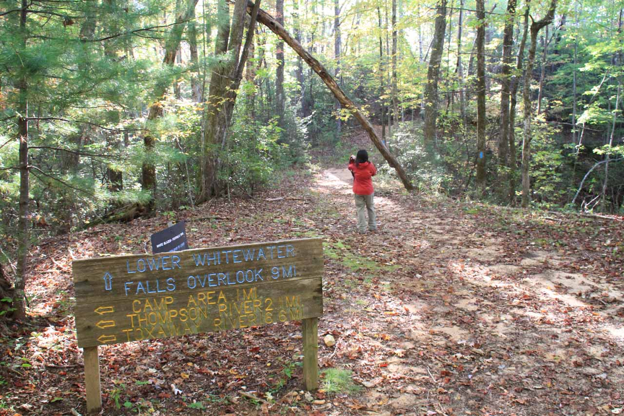 Continuing on the trail past yet another junction